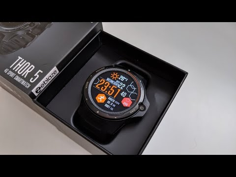 ZEBLAZE THOR 5 Dual - Full Android Smartwatch - AMOLED - Any Good?