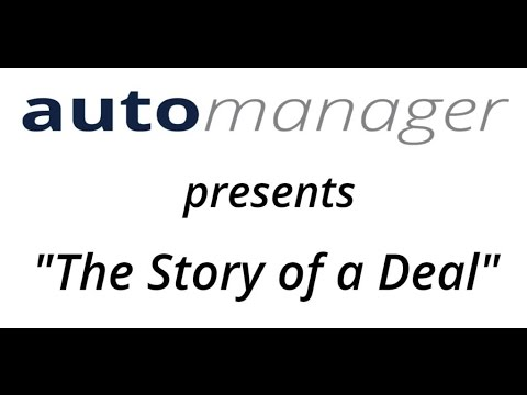Automanager Presents The Story Of Deal