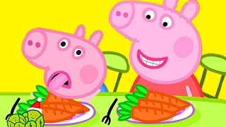 Peppa Pig Official Channel | Vegetables for George 🎄Peppa Pig Christmas