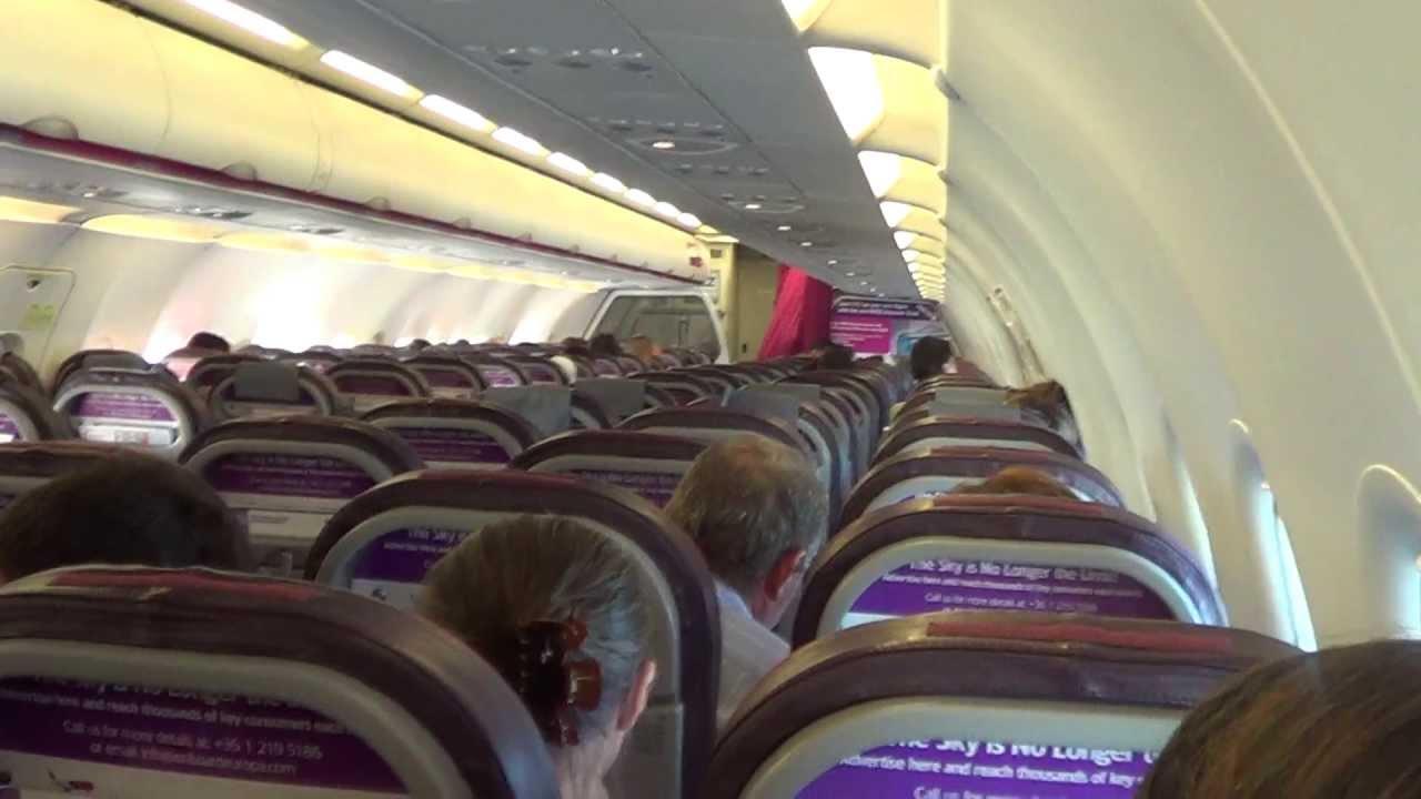 Interior Wizz Air Airbus A320 Bucuresti Tel Aviv Pelerinaj Israel Iunie 2013 Youtube