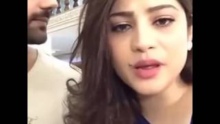 Neelam muneer speaking pashto