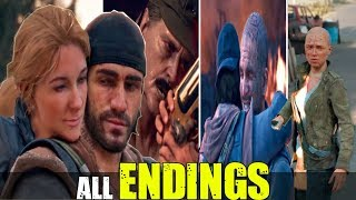 Days Gone  Final Boss And All Endings  No Commentary