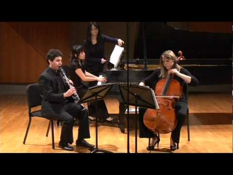 Boetti Trio. Brahms Clarinet Trio. op. 114, 1st movement