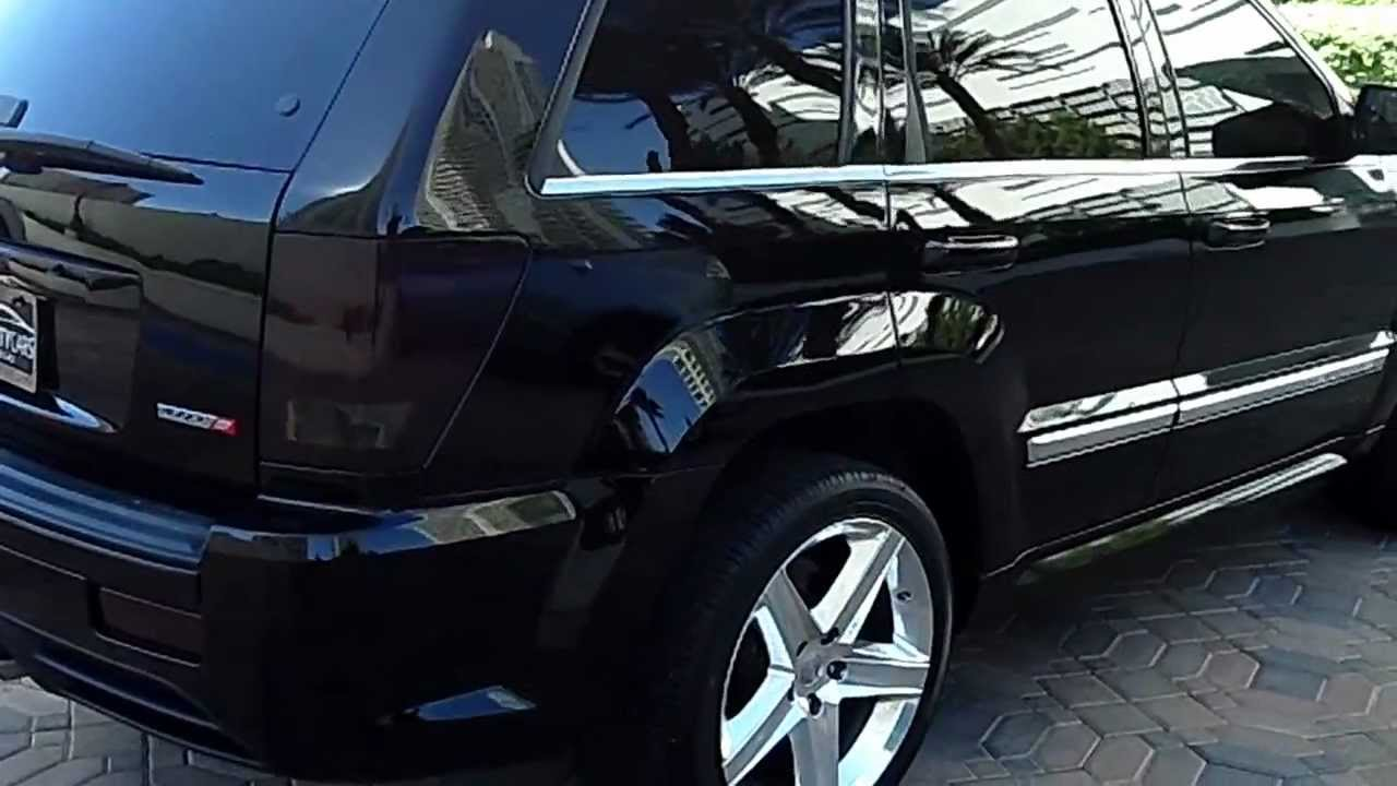 2006 jeep srt8 for sale at celebrity cars las vegas youtube. Black Bedroom Furniture Sets. Home Design Ideas