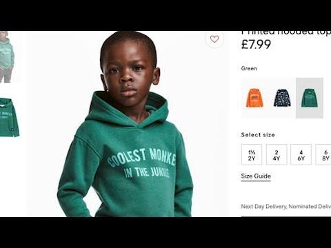 H&M Racist Pic Black Boy wearing Monkey Shirt @Hodgetwins