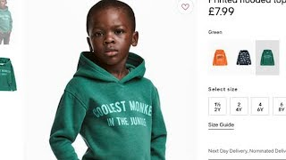 One of TheHodgetwins's most viewed videos: H&M Racist Pic Black Boy wearing Monkey Shirt @Hodgetwins