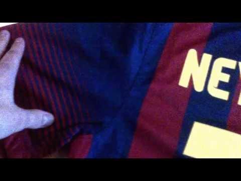 UNBOXING NEYMAR JR Nike FC Barcelona 2013/14 Home Jersey