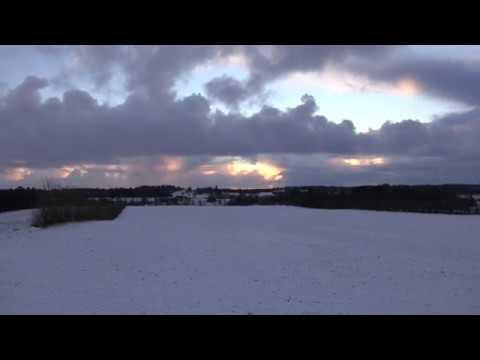Winter Weather In Denmark January 2018