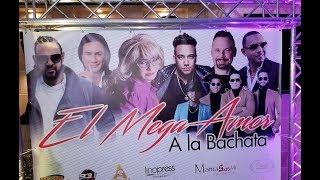 El Mega Amor 4K a la Bachata Rueda de Prensa