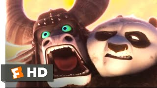 Kung Fu Panda 3 2016 - Skadooshing the Spirit Warrior Scene 810  Movieclips