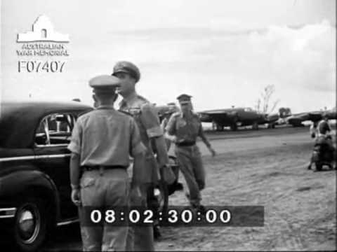 Visit by Lord Louis Mountbatten to Balikpapan