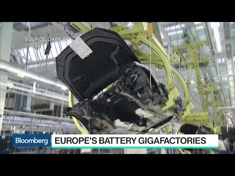 Thumbnail: Europe Plans Own Battery Gigafactories, Challenging Tesla