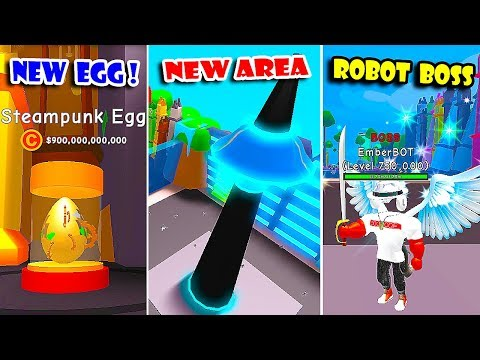 *NEW* ROBOT AREA UPDATE, 2 NEW TRAILS & GOT ALL NEW PETS In RPG WORLD SIMULATOR! [Roblox]