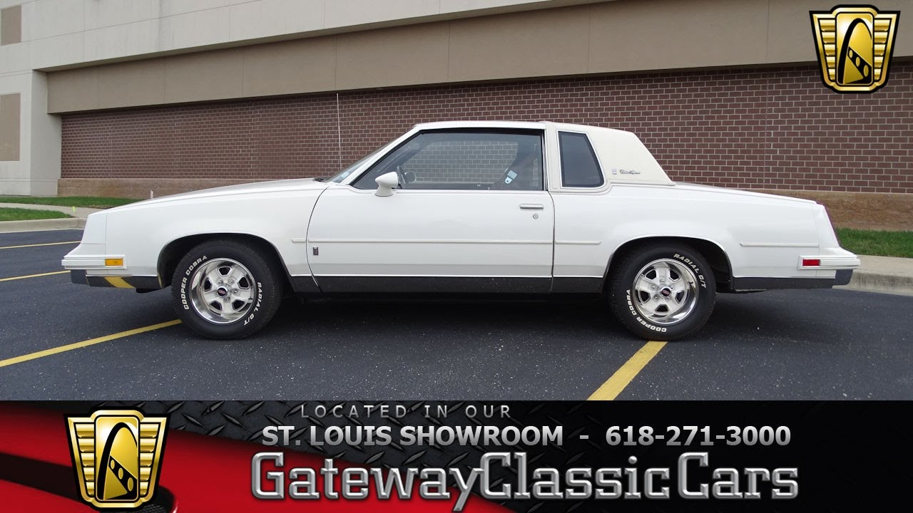 1983 oldsmobile cutlass supreme brougham stock 7239 gateway classic