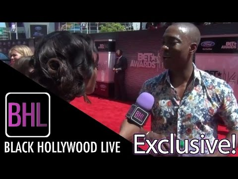 B.J. Britt @ BET Awards Red Carpet  Black Hollywood Live