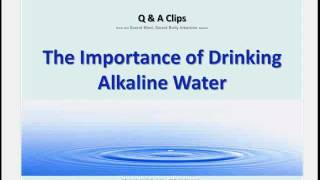 Using Alkaline Ionized Water for Cleanse and Weight Loss