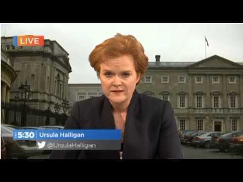 TV3 news report on Averil Power's resignation from Fianna Fáil