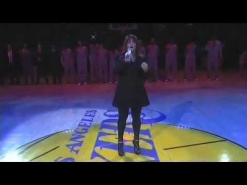 Lydia Singing National Anthem-YouTube sharing.mov