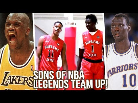 Shareef O'Neal & Bol Bol On SAME TEAM!! Son's of NBA LEGENDS Team Up to DOMINATE!