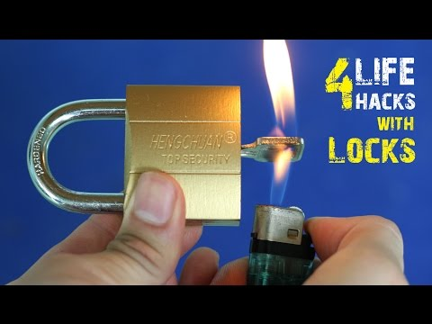 4 Amazing life hacks with Locks
