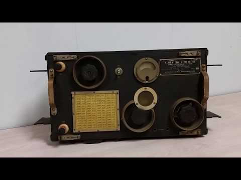 1932 Army Signal Corps BC-175 Radio Receiver