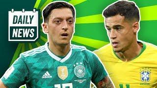 DFB: Druck auf Özil! Barcelona Transfer: Coutinho zu PSG? Badstuber als Pavard-Ersatz? Daily News