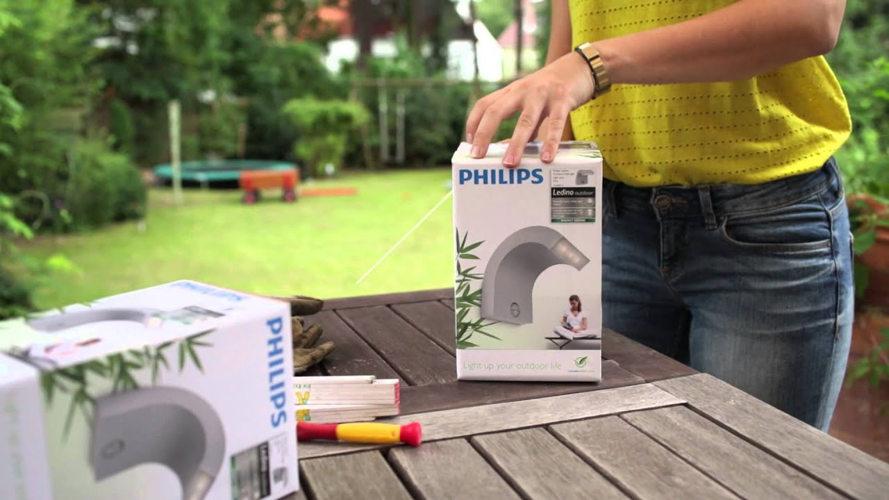 Philips Lighting Veranderte Gartenbeleuchtung In Berlin Youtube