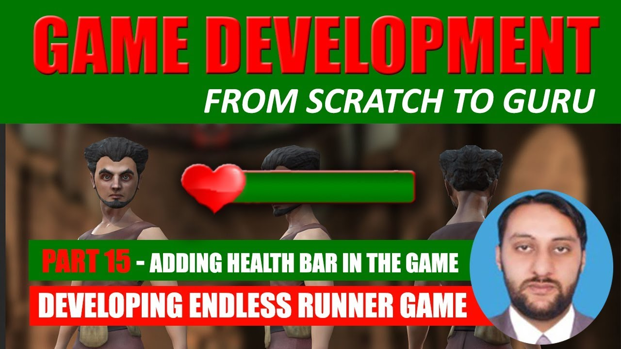 Part 15 - How To Create Health Bar In Unity 3d Game Engine | Game Development From Scratch To Guru