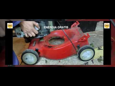 ENERGIA GRATIS PARA TU CASA CON CORTADOR DE SESPED