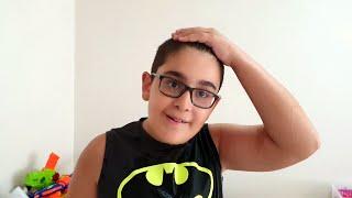 Berat ile Birlikte Buğraya Su Şakası Yaptık. Eğlenceli Çocuk Videosu