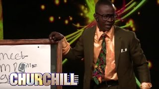 Teacher Mpamire On Churchill show