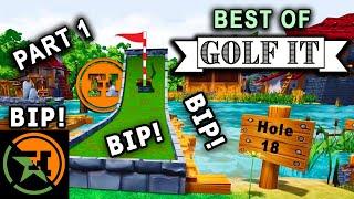 Best of AH - Golf It! - Part 1   Achievement Hunter Best Moments