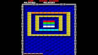 MAME World Record: Arkanoid [World] 1,236,680