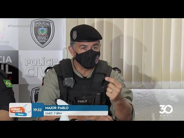 Operação prende suspeitos de tráfico de drogas, assaltos e homicídios -Tambaú da Gente Noite