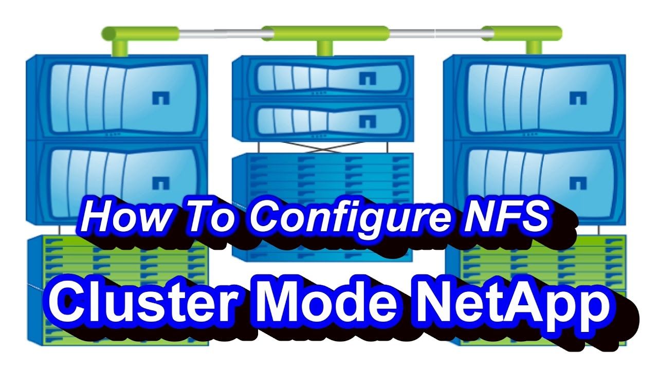 how to create nfs share in netapp cluster mode