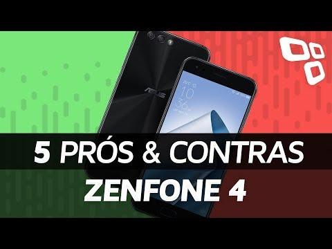 Asus Zenfone 4 - Prós e Contras - TecMundo