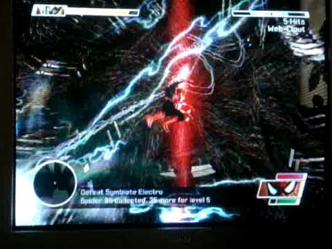 Spiderman Web Of Shadows Symbiote Electro 1/2 - YouTube
