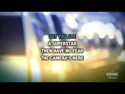 """Superstar in the Style of """"Lupe Fiasco feat. Matthew Santos"""" with lyrics (no lead vocal)"""
