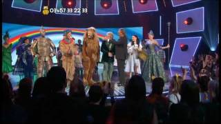 The Wizard of Oz cast perform a medley on Children in Need 2011