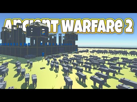 1000 Wolves Siege a Castle! - Let's Play Ancient Warfare 2 Gameplay