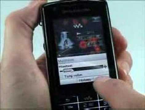 Videorecenze Sony Ericsson W960i část 1