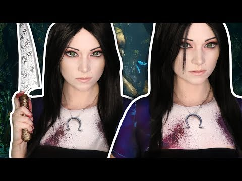 MY CLOTHES ARE MAKEUP!   Alice Madness Returns Makeup Tutorial