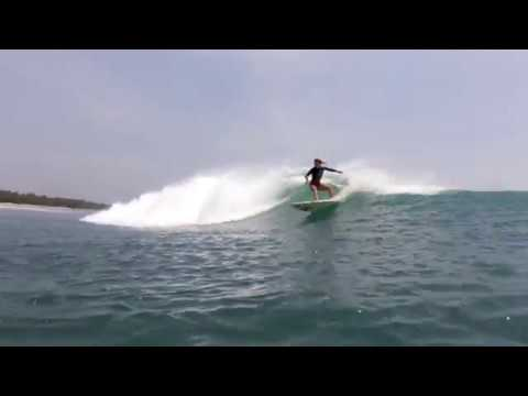 Krui, Surfing and daily local life