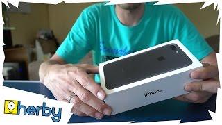 iPhone 7 plus kicsomagolás