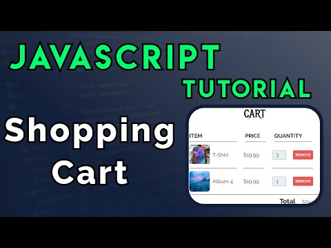 JavaScript Shopping Cart Tutorial For Beginners