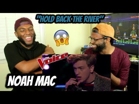 The Voice 2017 Knockout  Noah Mac: Hold Back the River REACTION