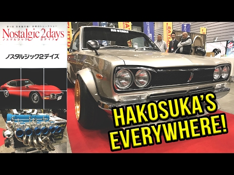 JAPANESE CLASSIC CAR SHOW! - Hakosuka's Everywhere! Nostalgic 2Days | VLOG