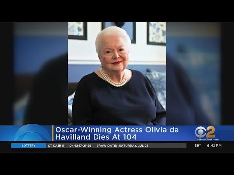 Oscar-Winning Actress Olivia De Havilland Dies At 104