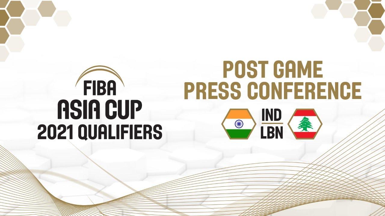 India v Lebanon - Press Conference