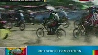 BP: Motorcross competition sa Davao del Norte